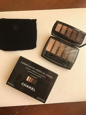 Ombres Matelassees Charming  Chanel Eyeshadow Palette