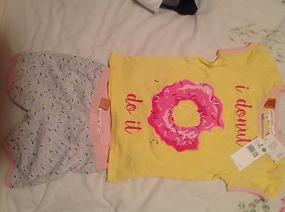 Girls Summer Pyjamas Size 4 (Brand New)