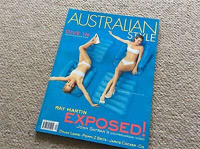 rare AUSTRALIAN STYLE MAGAZINE issue 29 1998 Ray Martin Jarvis cocker fashion
