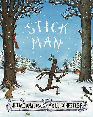 Stick Man by Julia Donaldson New Paperback Book