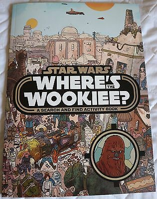 Star Wars: Where's the Wookiee? Search and Find Book by Lucasfilm Ltd (Hardback,
