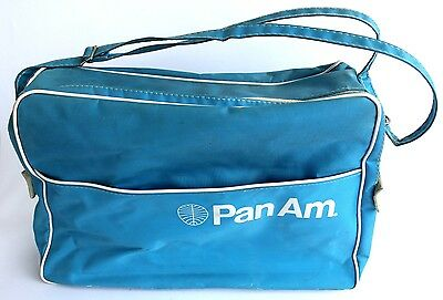Pan Am Schultertasche Vintage 1960's Pan Am Airlines Carry On Travel Flight Bag