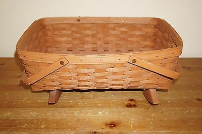 Longaberger Cradle Rocking Basket 1989 READ AUCTION B4 BEFORE BUYING! SOLD AS IS