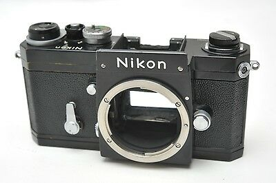 Nikon F Black 35Mm Body