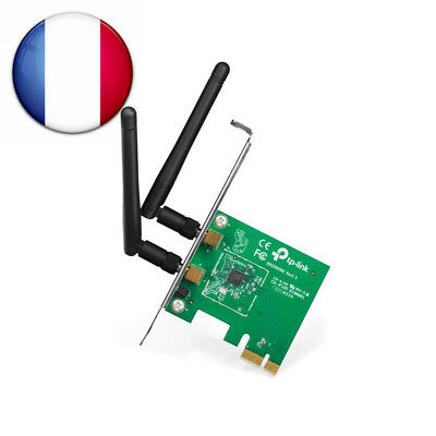 TP-Link TL-WN881ND Adaptateur PCI Express Wi-Fi N 300 Mbps avec Equerre Low