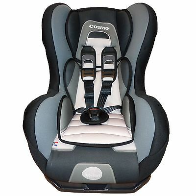 OFFER BS Comfort + SP Luxe Baby Child Safety Recliner Car Seat 9m-4yrs Tech Grey