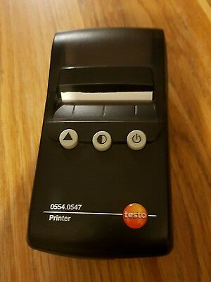 Testo Flue Gas Analyser Printer Remote Wireless Printer