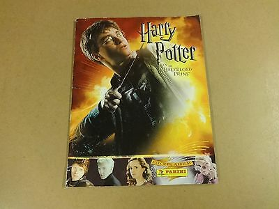 Sticker Album Panini Incl Alle Stickers - Harry Potter En De Halfbloed Prins
