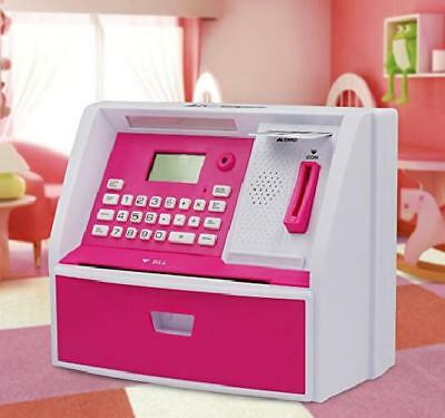 Electronic Coin Note Money Counting ATM Box Saving Safe Digital Piggy Bank Toy A