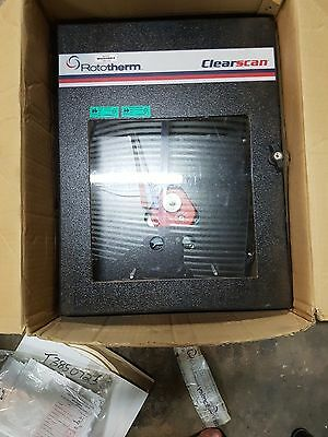 Rototherm Clearscan Double Pen chart Recorder, pressure and temperature