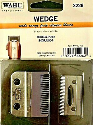 Wahl Professional Wedge 2 Hole Blade #2228 For Legend Clippers Upc, 043917222806