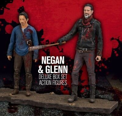 "The Walking Dead Tv Series Negan & Glenn 5"" Action Figure Deluxe Box Set"