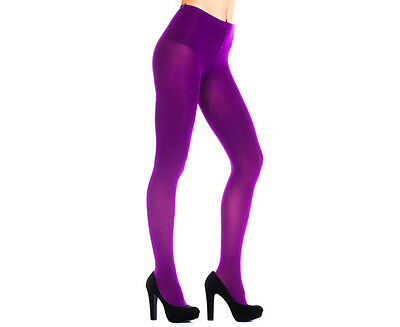 Bonds Colour Pop Opaque Tights 70 Denier Fuchsia Purple Size Tall - Extra Tall