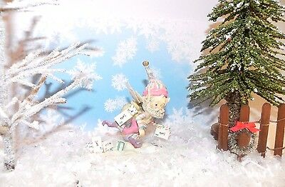 Enesco North Pole Village Elf Sandi Zimnicki ZIPPY Mail Carrier W/box SIGNED!