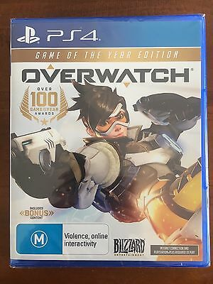 Overwatch Game Of The Year Edition GOTY PlayStation 4 PS4