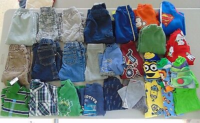 Lot Boy Clothes 24 months and 2T Winter Fall Jeans Long sleeve Shirts PJ's