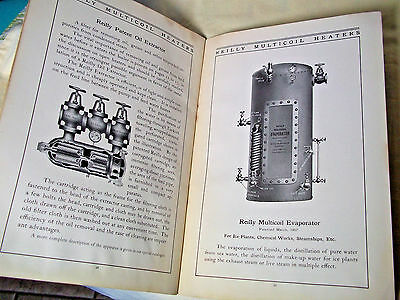 Vintage book ads Reilly Multicoil Heater 1900's liquor plumbing Rogers & Co.