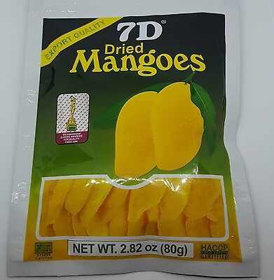 Hot Selling ~10 bags 7D Dried Mango(10 bags×80g)