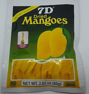 Hot Selling ~2 bags 7D Dried Mango(2 bags×80g)