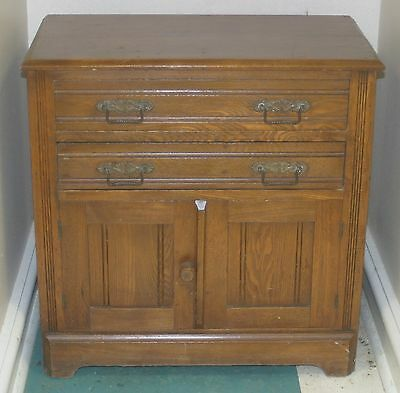 Antique Small Oak Dresser Chest