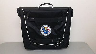 Rare The Simpsons Department of Homer land Security OGIO Rolling Garment Bag