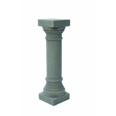 "Lightweight Greek Column 32"" Pedestal Resin Statue w/ Natural Granite Appearance"