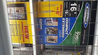Werner compact extension ladder 16 foot