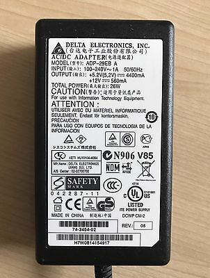 DELTA Power Adapter. 26W, ADP-29EB A, 74-3454-03,  74-3454-02, 74-3454-01