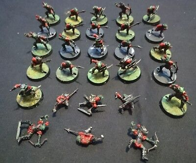 Lord of the Rings mixed Moria goblins miniatures
