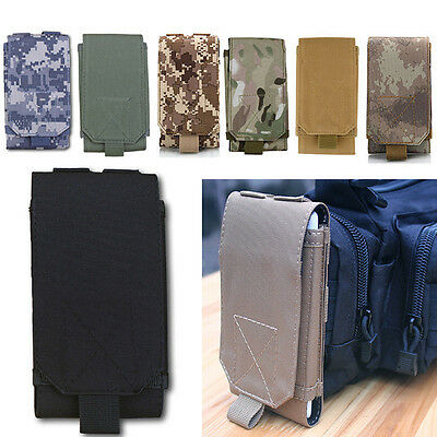Universal Outdoor Molle Army Tactical Pouch Holster Mobile Phone Case Bag Belt