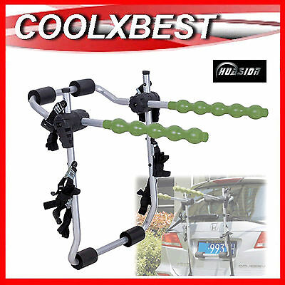 HBC BIKE BICYCLE CARRIER RACK REAR BOOT MOUNT For 2 BIKE CAR WAGON 4WD SUV