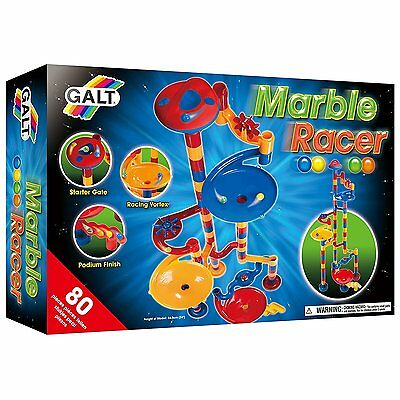 MARBLE RACER 80 Piece Construction Set Game Galt Toys *NEW*