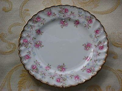 """Queen Anne  """"Harmony Rose"""" -  Side plate"""