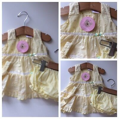 Baby Girls Clothes/ Pretty Girls New Summer 3 Piece Dress Set 0/3 Months