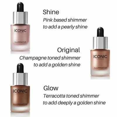 ❤❤❤ ICONIC LONDON Illuminator Original Or Shine Or Glow Sample 100% AUTHENTIC❤❤❤