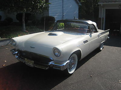 1957 Ford Thunderbird  1957 Ford Thunderbird - CTCI Gold Award Senior Car