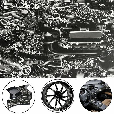 50x100cm Engine Machine Hydrographic Water Transfer Hydro Dipping DIP Print Film
