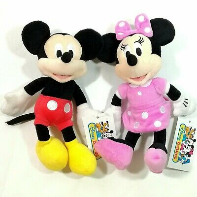 Disney Baby Toddler Kid Child Crib Plush Soft Stuffed Minnie Mickey Toy Doll Pal