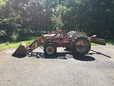 Ford 9n Tractor with loader and drag blade