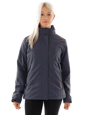 CMP Outdoorjacke Winterjacke 3in1 Fleecejacke grau ClimaProtect® warm