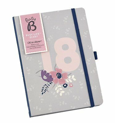 Busy B Busy Floral Life Diary 2018 - 2018 Busy Life Diary - Ladies Gift Idea