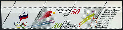 Slovenia 1992 SG#139-140 Winter Olympic Games MNH Set #D55056