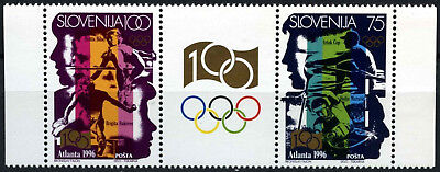 Slovenia 1996 SG#299-300 Olympic Games MNH Set #D55057