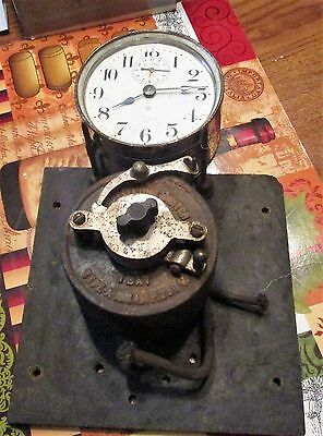Ansonia   Alarm Clock Switch   Running Antique Collectible