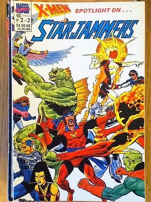 X-Men Spotlight on Starjammers 2 of 2 (VF) from 1990 - postage discounts apply