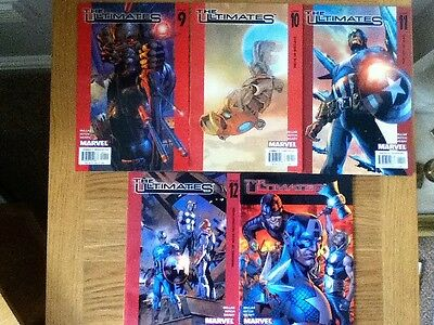 Bundle Joblot of 5 The Ultimate comics (VF) issues 9, 10, 11, 12, 13
