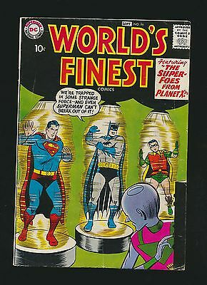 World's Finest #96, Fine-, Newly Acquired Collection