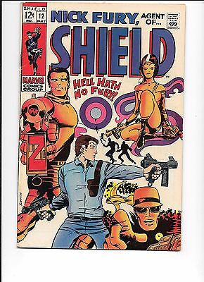 Nick Fury, Agent Of Shield S.H.I.E.L.D.#12 May 1969