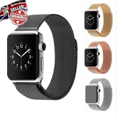 Milanese Magnetic Loop Stainless Steel Watch Strap Bands For Apple Watch iwatch