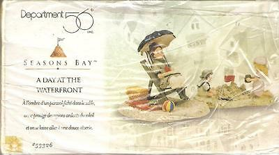 Department 56 Seasons Bay A Day At The Waterfront 53326 Retired New in Box